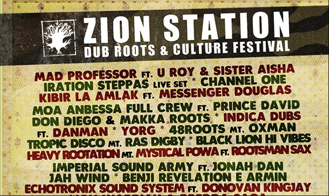 ZION STATION - DUB ROOTS AND CULTURE FESTIVAL, 21-24 giugno a Gambulaga!